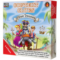 LRN302 - Context Clues Pirate Treasure Red in Language Arts