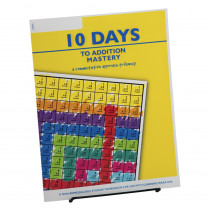 10 Days to Addition Mastery Student Workbook - LWU751 | Learning Wrap-Ups | Addition & Subtraction
