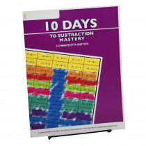 10 Days to Subtraction Mastery Student Workbook - LWU752 | Learning Wrap-Ups | Addition & Subtraction