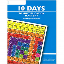 LWU753 - 10 Days To Multiplication Mastery Student Workbook in Multiplication & Division
