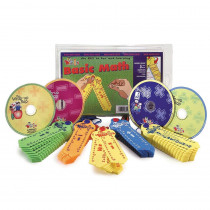 LWUK801CD - Wrap-Up Basic Math Intro Kit in Audio & Video Programs