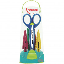 MAP601005 - Craft Scissors Case 5 Assorted Patterns in Scissors