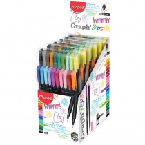 Graph'Peps Classic 0.4mm Fine Felt Tipped Pens, Pack of 20 - MAP749151 | Maped Helix Usa | Pens