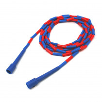 MASJR16 - Jump Rope Plastic 16 Sections On Nylon Rope in Jump Ropes