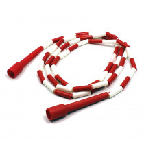 MASJR8 - Jump Rope Plastic 8 Sections On Nylon Rope in Jump Ropes