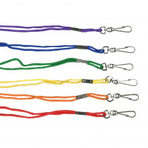 MASL1AS - Lanyards Assorted Pack Of 12 in Whistles