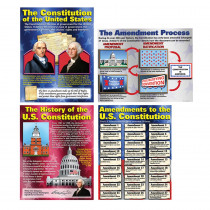 MC-P119 - The Constitution Teaching Poster Set in Social Studies