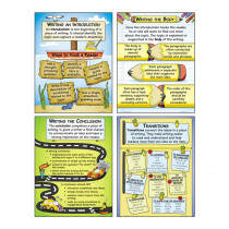 MC-P199 - Organizing Good Writing Teaching Poster Set in Language Arts