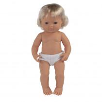 "Baby Doll 15 Causasian Boy - MLE31052 | Miniland Educational Corporation | Dolls"""