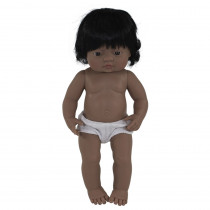 "Baby Doll 15 Hispanic Girl - MLE31058 | Miniland Educational Corporation | Dolls"""