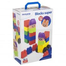 MLE32336 - Blocks Super 32 Pcs in Blocks & Construction Play