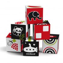 First Senses 6 Cubes Set - MLE97313 | Miniland Educational Corporation | Sensory Development