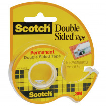 MMM136 - Tape Double Stick 1/2 X 250 in Tape & Tape Dispensers