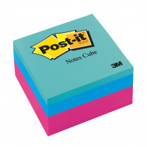 MMM2051FLT - Notes Cube 2X2 400 Sheets in Post It & Self-stick Notes