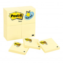 MMM65424VAD - Post-It Notes Value Pk 24 Pads 3X3 Canary Yellow in Post It & Self-stick Notes
