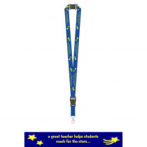 MTB1776 - Teacher Lanyards A Great Teacher Helps Students Reach For The Stars in Gifts