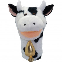 MTB201 - Plushpups Hand Puppet Cow in Puppets & Puppet Theaters