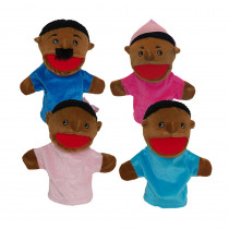 MTB360 - Family Bigmouth Puppets African American Family Of 4 in Puppets & Puppet Theaters