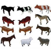 MTB870 - Farm Animals Playset in Animals