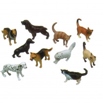 MTB873 - 5In Pets Animal Playset Set Of 10 in Animals