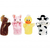 MTB9006 - Farm Puppet Set I Includes Duck Pig Horse And Cow in Puppets & Puppet Theaters