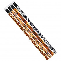 MUS1023D - Jungle Fever Assortment 12Pk Pencil in Pencils & Accessories