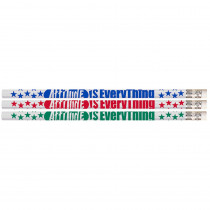 Attitude is Everything Pencil, Pack of 12 - MUS1435D | Musgrave Pencil Co Inc | Pencils & Accessories