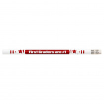 MUS2204D - 1St Graders Are #1 12Pk Motivational Fun Pencils in Pencils & Accessories