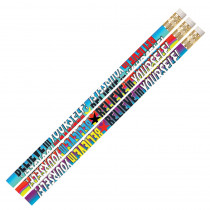 MUS2283D - Believe In Yourself Pencil Assortment Pack Of 12 in Pencils & Accessories