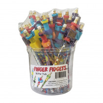 Finger Fidget, Tub of 36 - MUSFIDGETS | Musgrave Pencil Co Inc | Novelty