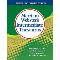 MW-1768 - Merriam Websters Intermediate Thesaurus Hardcover in Reference Books