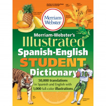 MW-1775 - Merriam Websters Illustrated Spanish English Student Dictionary in Spanish Dictionary