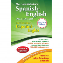 MW-2659 - Merriam Websters Spanish English Dictionary Hardcover in Spanish Dictionary