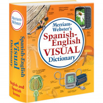 MW-2925 - Merriam Webster Spanish English Visual Dictionary in Spanish Dictionary