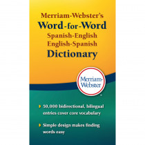 MW-2970 - Merriam Websters Spanish English English Spanish Dictionary in Spanish Dictionary