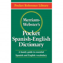 MW-5193 - Merriam Websters Pocket Spanish - English Dictionary in Spanish Dictionary
