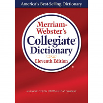 MW-8071 - Merriam Websters Collegiate Dictionary 11Th Ed Laminated in Reference Books