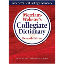 MW-8095 - Merriam Websters Collegiate Dictionary 11Th Ed Indexed W/Cd in Reference Books