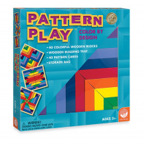 MWA25105W - Pattern Play Blocks Age 2 & Up in Patterning
