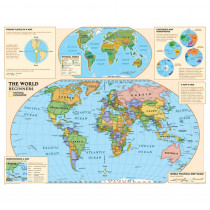 NGMRE01020557 - Beginners World Map in Maps & Map Skills