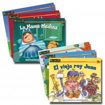 NL-1997 - En Espanol Nursery Rhyme Tales Vol2 Set Of 12 Rising Readers Fiction in Language Arts