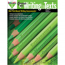 NL-2078 - Common Core Writing To Text Gr 1 Book in Writing Skills