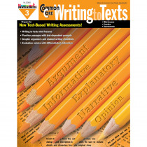 NL-2080 - Common Core Writing To Text Gr 3 Book in Writing Skills