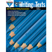 NL-2082 - Common Core Writing To Text Gr 5 Book in Writing Skills