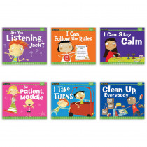 NL-2271 - Myself Readers 6Pk I Am In Control Of Myself Small Book in Self Awareness