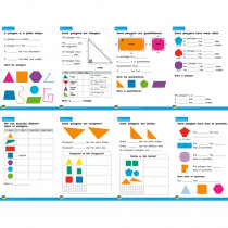 NL-4638 - 2 Dimensional Shapes Posters in Math