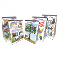 NP-350035 - Set Of All 5 Early Childhood Social Studies Readiness Flip Chart in Activities