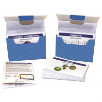 NP-446017 - Life Science Vocabulary Builder Flash Card Set Middle School in Life Science