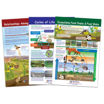 Ecology Bulletin Board Chart Set, Grades 3-5 - NP-947007 | New Path Learning | Science