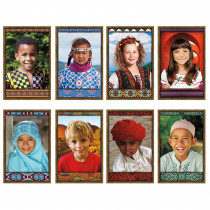 NST3031 - All Kinds Of Kids International Bulletin Board Set in Social Studies